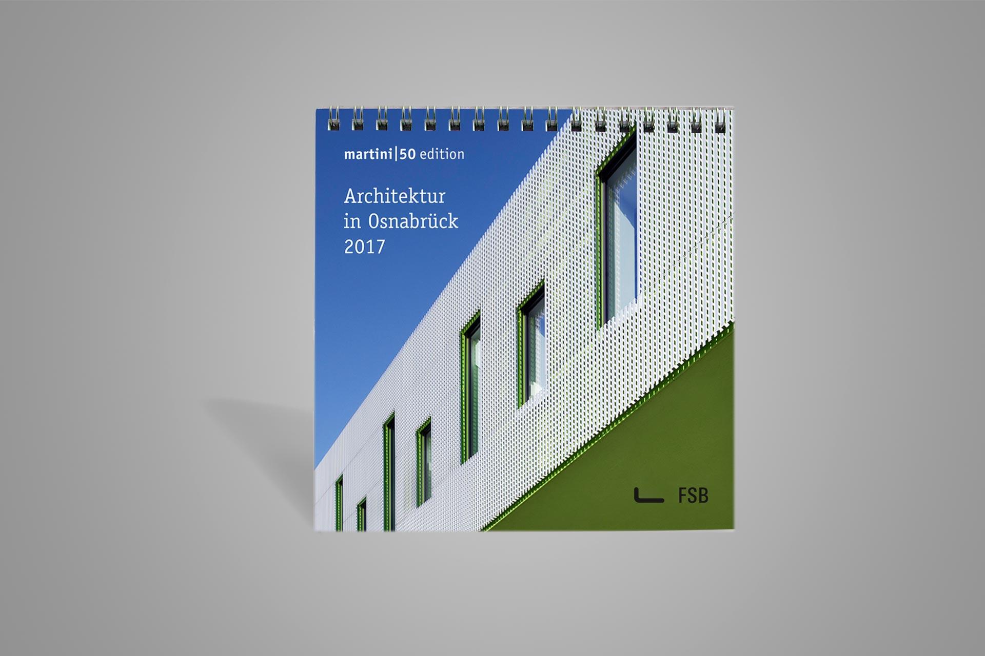 Tischkalender Architektur Osnabrück 2017