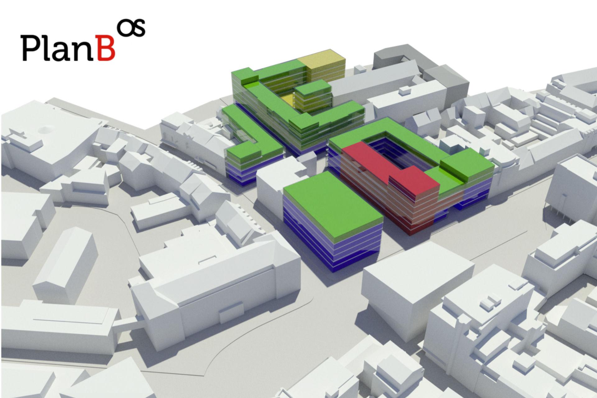 PlanB-Mischnutzungskonzept für den Neumarkt Osnabrück